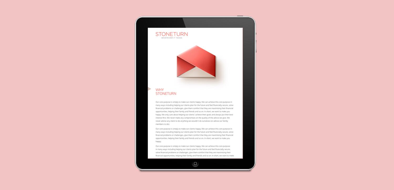 Stoneturn E-newsletter